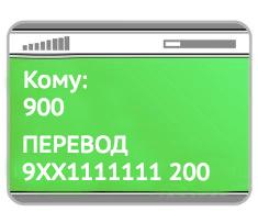 Переводы по номеру телефона получателя