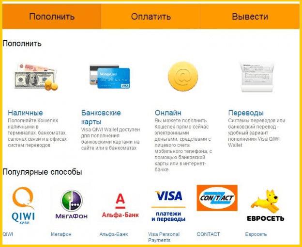 Перевести деньги с Мегафона на Киви - инструкция