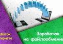 Как заработать в Интернете на файлообменниках: руководство по заработку
