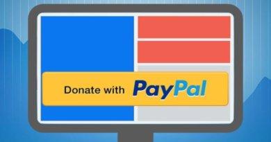 PayPal пожертвования