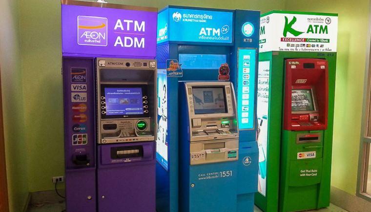 Как снять деньги в Тайланде с карты