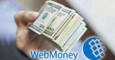 Как вывести деньги с Вебмани